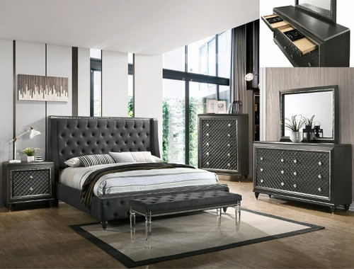 GIOVANI COLLECTION BED-B7900