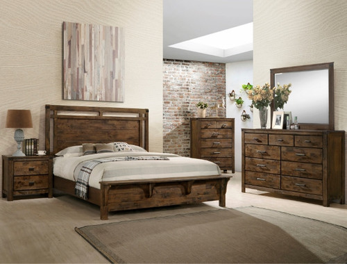 CURTIS PANEL COLLECTION BED-B4810