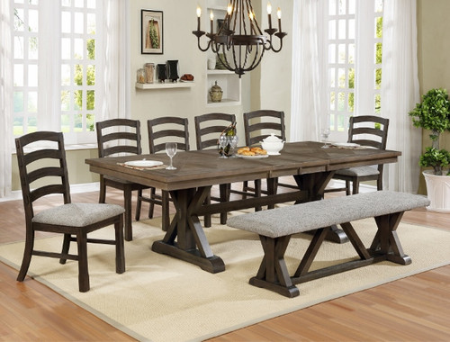 5 PCS ARMINA DINING TABLE SET-2296T-4296