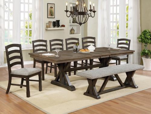 5 PCS ARMINA DINING TABLE SET