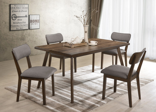 5 PCS GINA DINING TABLE SET-2247T-3659