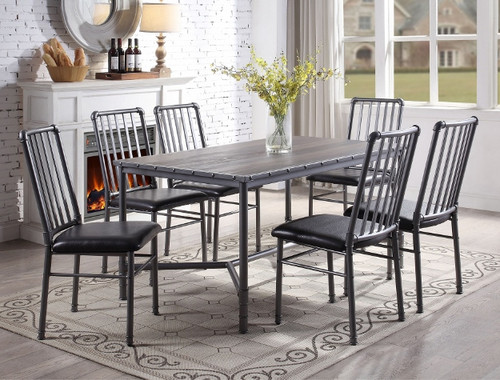 5 PCS DEVAR DINING TABLE SET-1112T