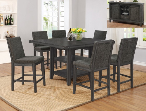 5 PCS MATHENY COUNTER HEIGHT TABLE SET-2735T-5454