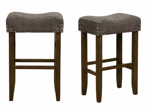 SHEENA BAR HEIGHT STOOL 2PCS SET-2983C-29-DGY
