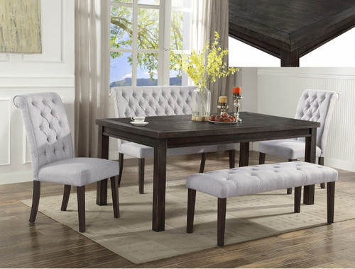 5 PCS PALMER DINING TABLE SET-2022T/S