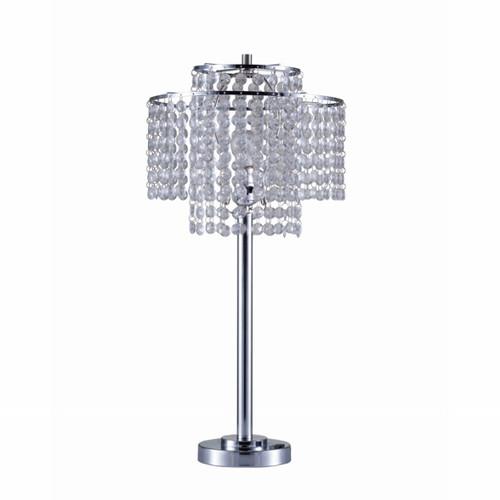 CHROME TABLE LAMP-6216T-CR