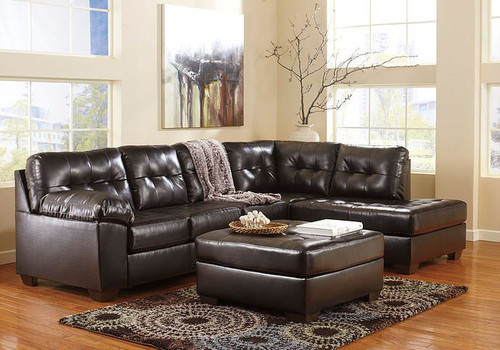 ALLISTON DURABLEND CHOCOLATE COLLECTION SECTIONAL SET-20101-66-17