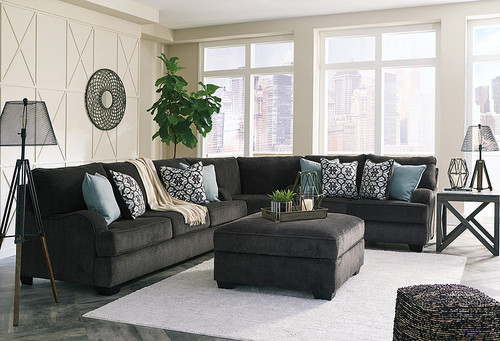 CHARENTON CHARCOAL COLLECTION SECTIONAL SET-14101-38-77-35