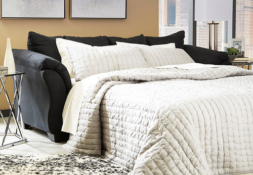 DARCY BLACK COLLECTION FULL SOFA SLEEPER-75008-39