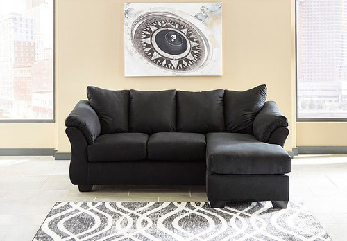 DARCY BLACK COLLECTION SOFA CHAISE-75008/20