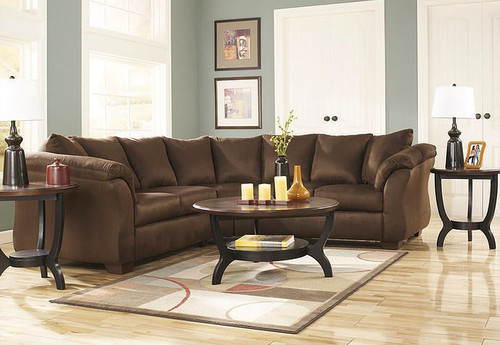 DARCY CAFE COLLECTION SECTIONAL SET-75004-55-56