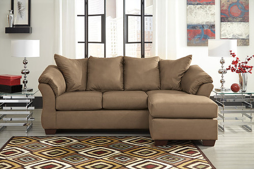 DARCY MOCHA COLLECTION SOFA CHAISE-75002/20
