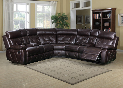 MACK BROWN COLLECTION 3PCS SECTIONAL SET-S7878
