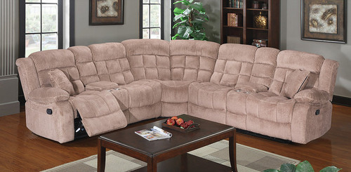 GABY DOUBLE RECLINING LOVESEAT WITH CONSOLE AND WEDGE-S8512