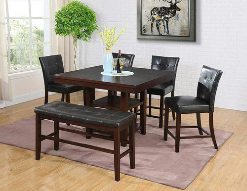 5PCS TYSON I COUNTER HEIGHT TABLE SET-D2114-2476