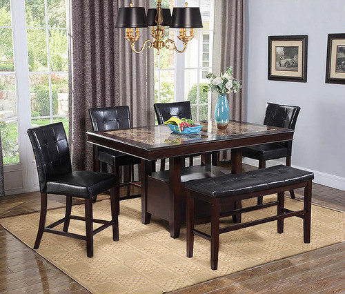 5PCS WENDY I COUNTER HEIGHT TABLE SET-D2476