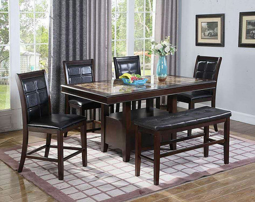 5PCS WENDY II COUNTER HEIGHT TABLE SET-D2476-9912