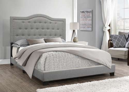 EMMA GRAY LINEN COLLECTION BED-Emma-Gray