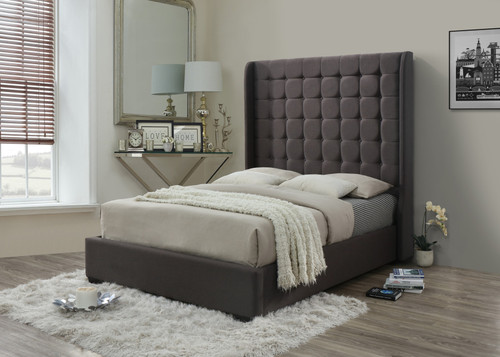 HOLLYWOOD QUEEN SIZE PLATFORM BED-Hollywood