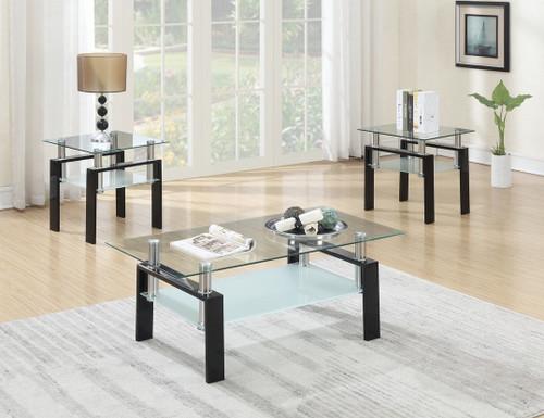 3 PCS VALERIO COFFEE TABLE SET-F3147
