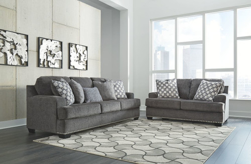 2 PCS BACENO CARBON SOFA & LOVESEAT-95904-38-35