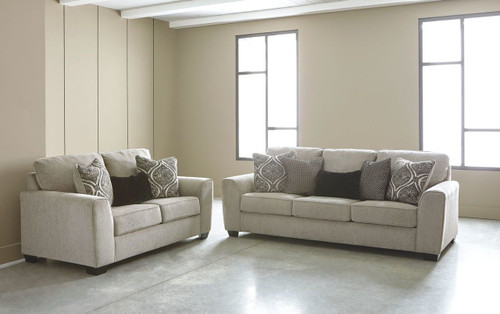 2 PCS PARLSTON ALLOY SOFA & LOVESEAT-78902-38-35