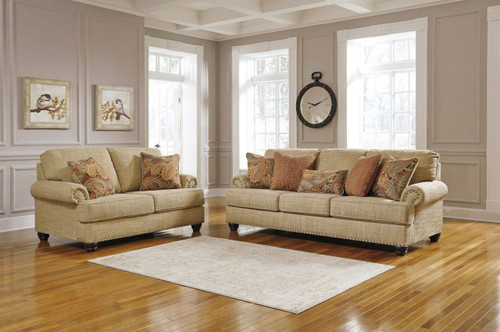 2 PCS CANDORO OATMEAL SOFA & LOVESEAT-11806-38-35