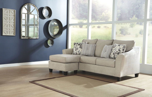 ABNEY DRIFTWOOD SOFA CHAISE-49701-18
