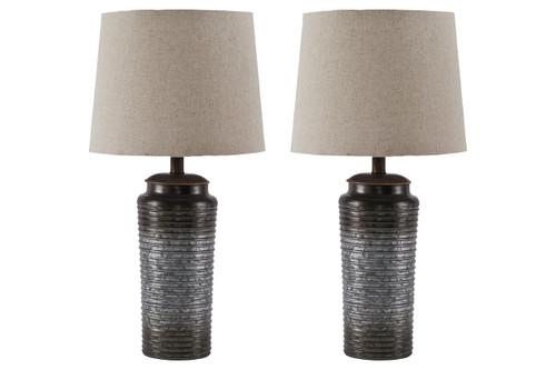 NORBERT TABLE LAMP (SET OF 2)-L204064