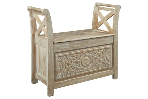 FOSSIL RIDGE ACCENT BENCH-A4000001