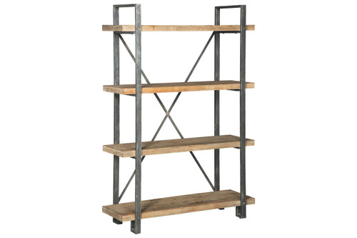 FORESTMIN BROWN / BLACK BOOKCASE-A4000045