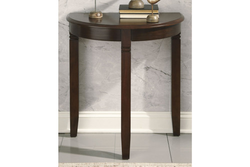 BIRCHATTA RICH BROWN CONSOLE TABLE-A4000056