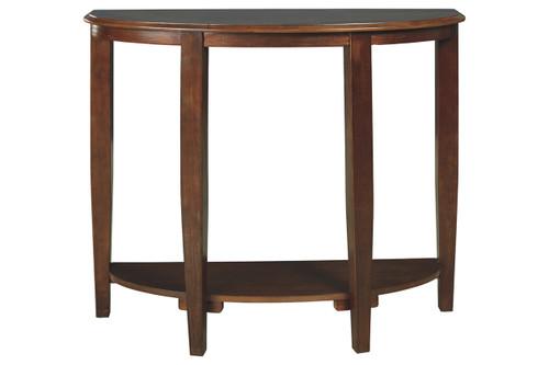 ALTONWOOD BROWN SOFA / CONSOLE TABLE-A4000123