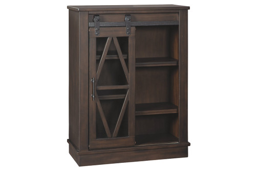 BRONFIELD BROWN ACCENT CABINET-A4000135