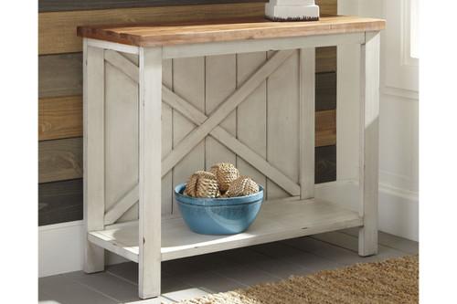 ABRAMSLAND SOFA / CONSOLE TABLE-A4000154