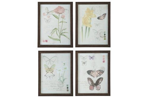 CARLISIA WALL ART (SET OF 4)-A8000255