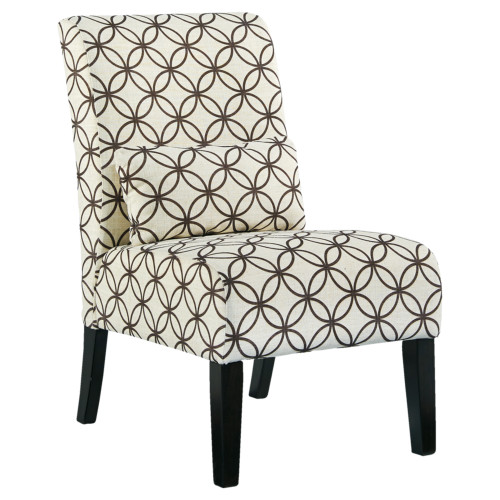 ANNORA BROWN ACCENT CHAIR-61608-60