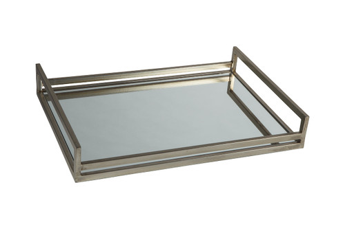 DEREX SILVER FINISH TRAY-A2000255