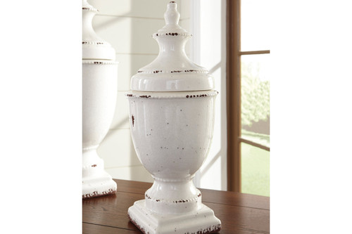 DEVORIT ANTIQUE WHITE JAR-A2000274