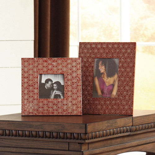 BANSI PHOTO FRAME (SET OF 2)-A2000150