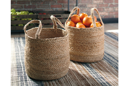 BRAYTON NATURAL BASKET (SET OF 2)-A2000094