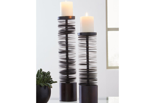 CONSTANCE CANDLE HOLDER (SET OF 2)-A2000199