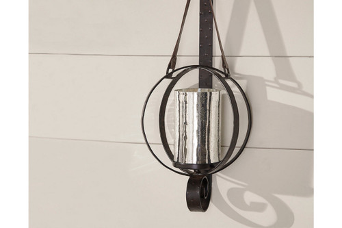 DESPINA BROWN SCONCE-A8010043