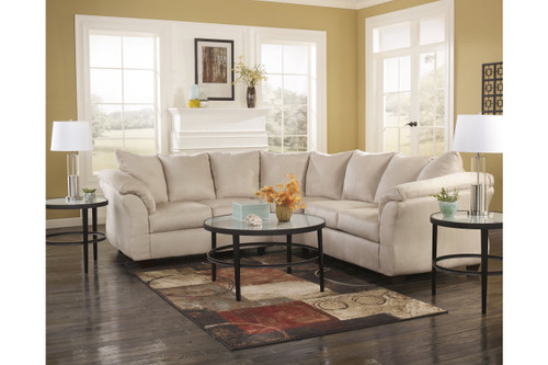 2 PCS DARCY STONE COLLECTION SECTIONAL SET-75000-55-56
