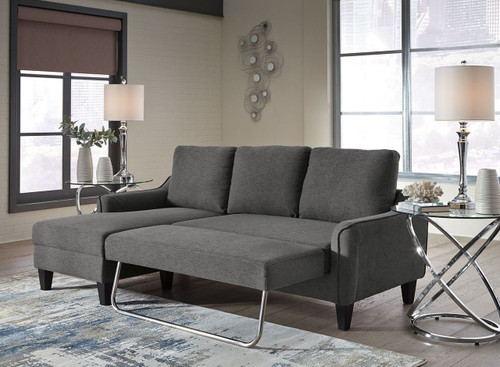 JARREAU GRAY QUEEN SOFA CHAISE SLEEPER-11502-71