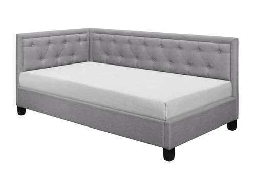 COLEMAN COLLECTION REVERSIBLE CORNER DAYBED (L-SHPED) GRAY COLOR