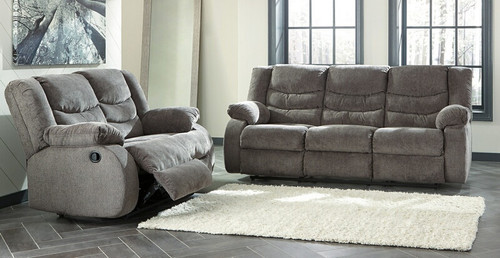2 PC TULLEN GARY SOFA AND LOVESEAT RECLINING SET