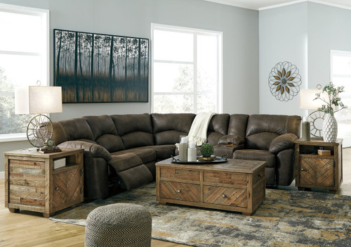 2 PC Tambo Canyon Reclining Sectional