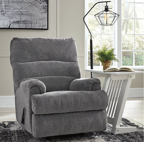Manfort Graphite Rocker Recliner