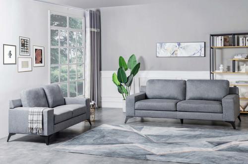 2PC Harden Sofa And Loveseat Set